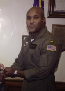 Former Officer of the Los Angeles Police Department and Navy reservist, Christopher Dorner.