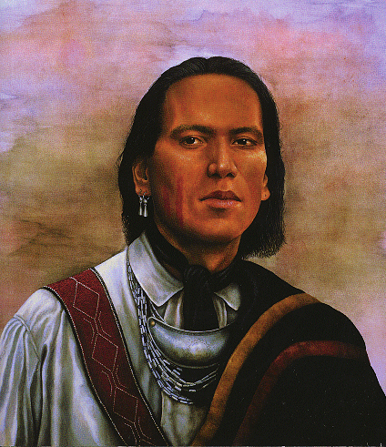 Shawnee warrior Native American Indian tribe tribal confederacy