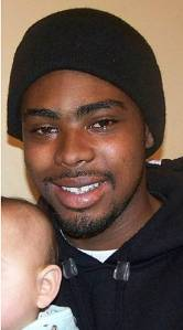 The real Oscar Grant, on whose last day of life the film 'Fruitvale Station' is based.