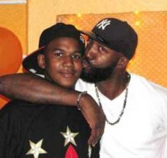 Trayvon with father Tracy Martin