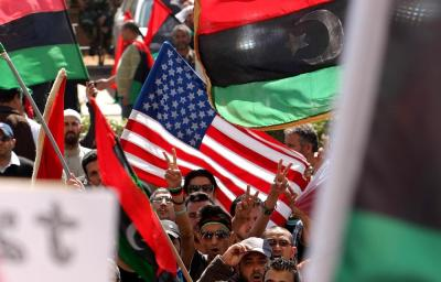 NATO-backed rebel fighters who overthrew Libya