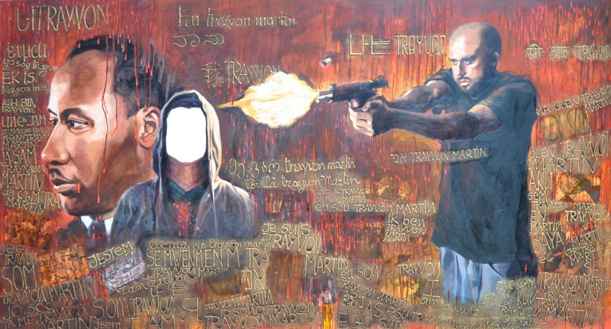 "Miami-based Artist Huong Unveils Her Masterpiece ""We Are All Trayvon Martin"" Mural at Florida's State Capitol"