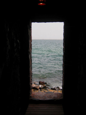"""The Door of No Return"" in which millions of Africans passed through before being loaded on board a ship headed westward, never to see their home continent again. Goree Island, Senegal."