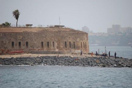 The 'House of Slaves' on Goree Island, Senegal.
