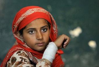 a 9-year old Pakistani victim of U.S. drone-terror named Nabila Rehmen