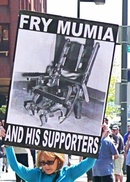 Opposition to Mumia is fierce.