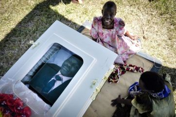 David Kato's Funeral in 2011. His life was tragically cut short due to his activism on behalf of Uganda's LGBT Community.