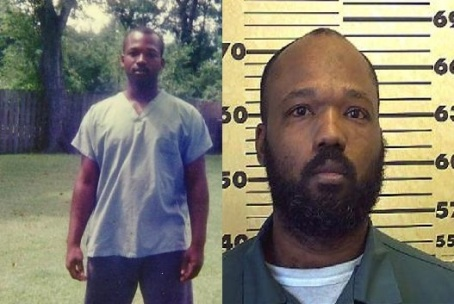 (left) 16-year old Bradley Ballard in 1990 (right) Ballard after a more recent arrest