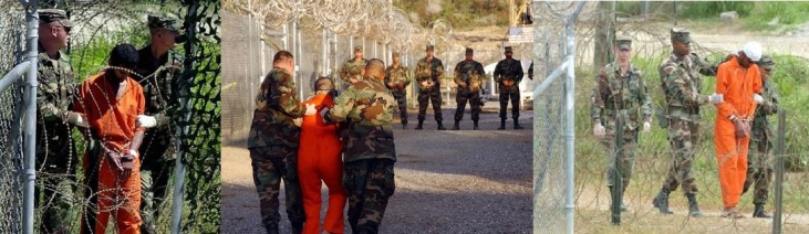 Guantanamo Bay, Cuba where the United States has illegally operated an international prison for the past twelve years.