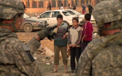 Children under the occupation