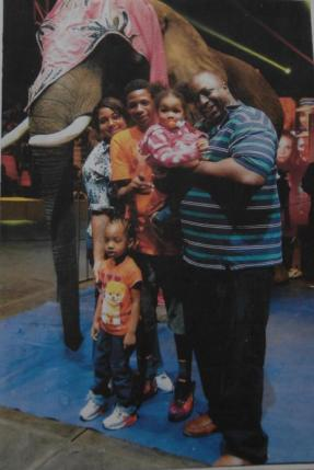 Eric Garner and family