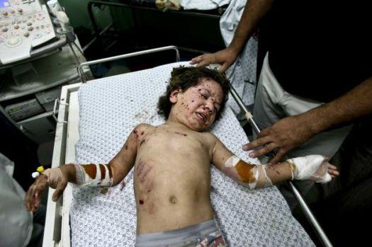4 year old Mohammed Al Awaj