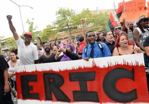 Protesters Demand Justice For Eric Garner