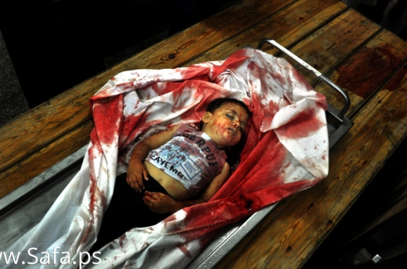 4 year old Sahir Abu Namus was murdered by Israeli military during yet another siege on Gaza.
