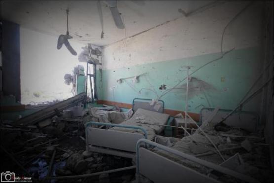 Al-Aqsa Hospital room