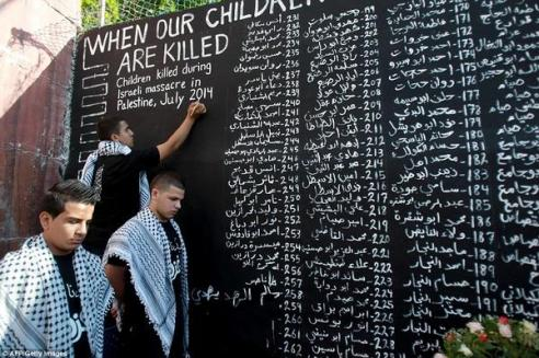 """When Our Children Are Killed in Palestine"" - Recording and remembering the dead."