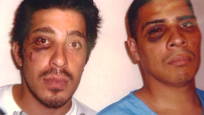 Hernandez and his brother were brutalized by two LAPD Officers who invaded their home. One of the officers was none other than Ezell Ford's killer, Sharlton K. Wampler.