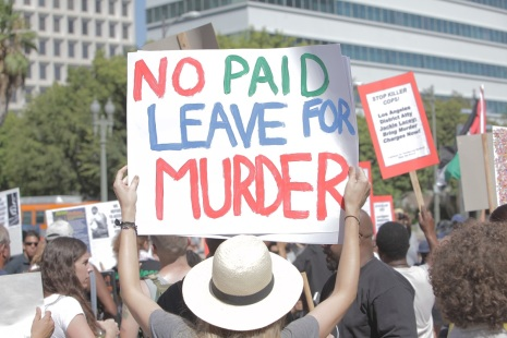 NO PAID LEAVE FOR MURDER
