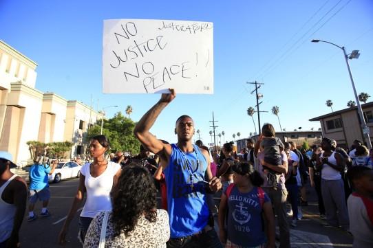 LAPD crime police brutality