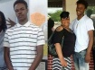 Vonderrit Myers Jr., pictured with his mother and alone, was shot dead by an off-duty police officer on Wednesday night. Police said he fled when approached by the officer and a fight ensued
