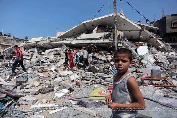Gaza Destruction Palestine
