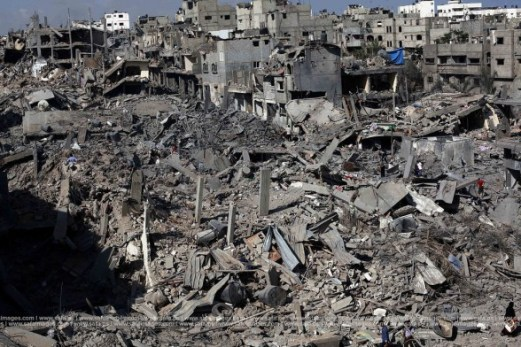 "The result of the Israeli offensive wrongly titled ""Operation Protective Edge"""