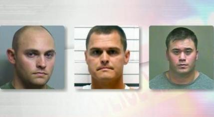 From left to right: Gerald Nuckolls, Eric Roberts, and Daniel Holtzclaw