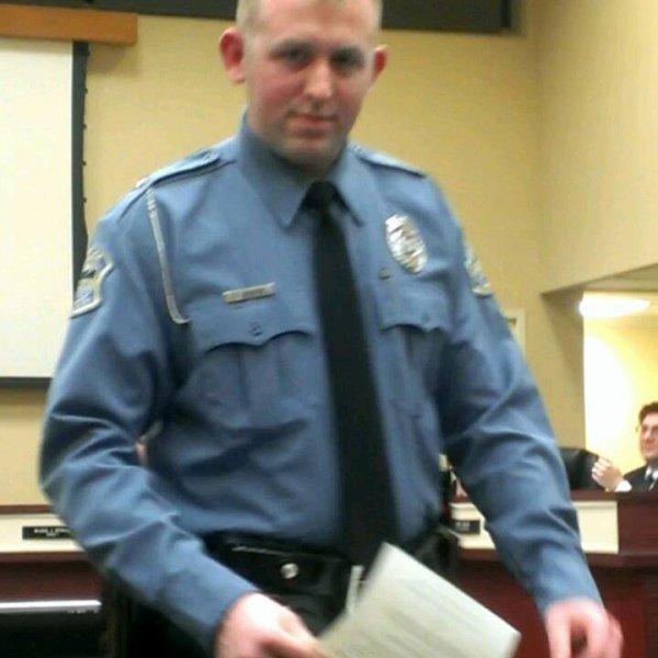 The murderer cop Darren Wilson