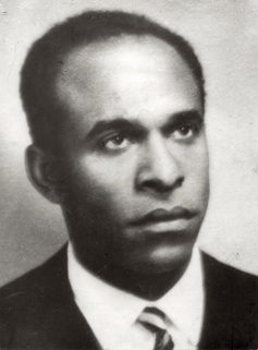 Frantz Fanon, author of Black Skin, White Mask.
