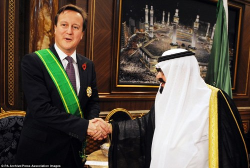 monarchy British Saud ties