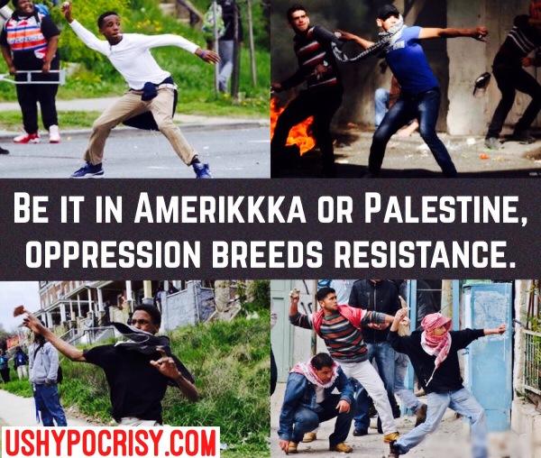 Oppression Breeds Resistance
