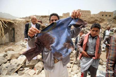 killed in a Saudi-led coalition strike on Yemen