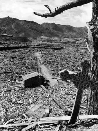 Nagasaki after the bomb
