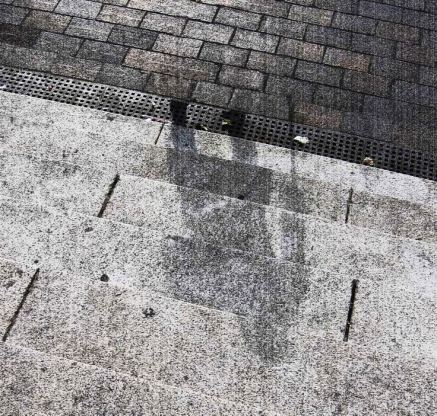 The shadow of Hiroshima victim is currently etched in stone, caused by the effects of immense nuclear radiation.
