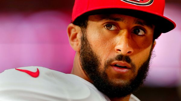 Colin Kaepernick, quarterback for the San Francisco 49ers