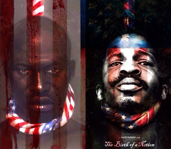 Birth of A Nation movie poster with Nate Parker