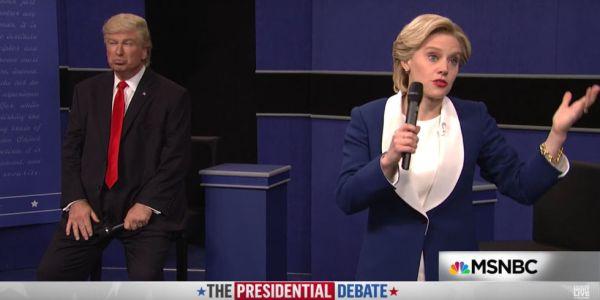 Saturday night live town hall debate alec baldwin as donald trump