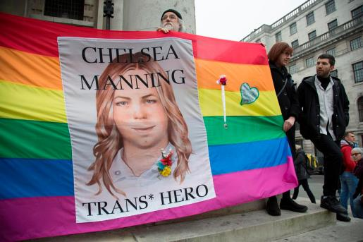 army private Chelsea Manning freed