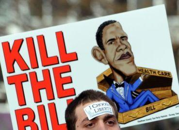 Obamacare anti protest