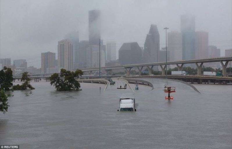 apocalyptic images downtown houston