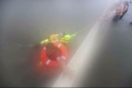 Houston, TX Interstate flooding