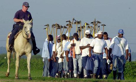 Angola Louisiana prison modern day slavery