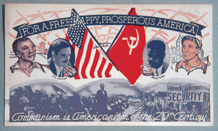 CPUSA presidiential nominees 1936