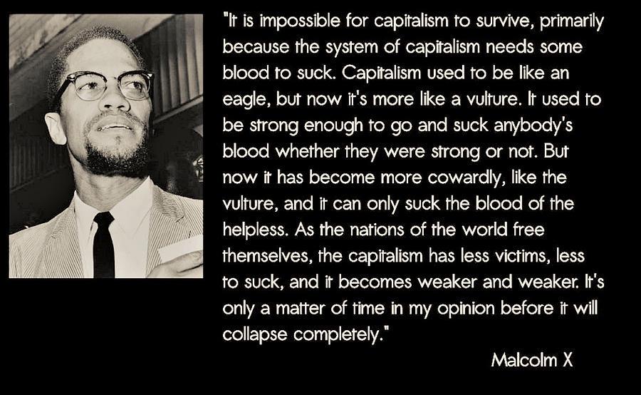 Revolutionary quote against capitalism