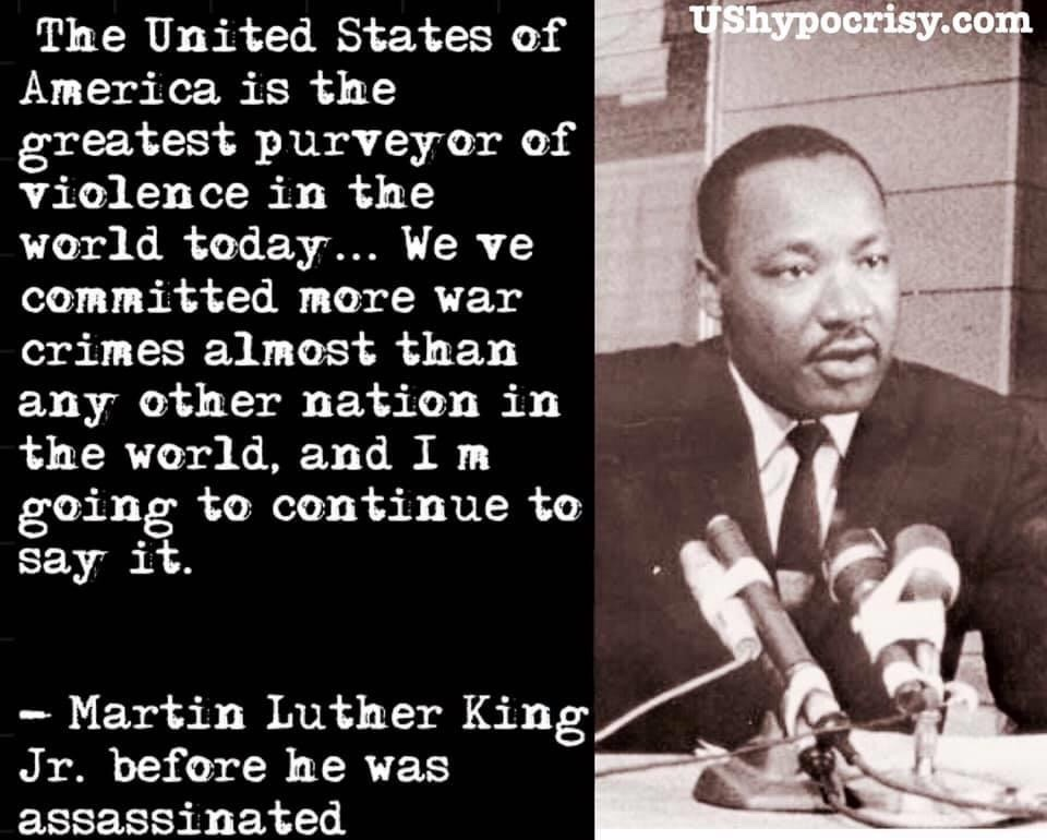 Martin Luther King Jr. on imperialism and racism